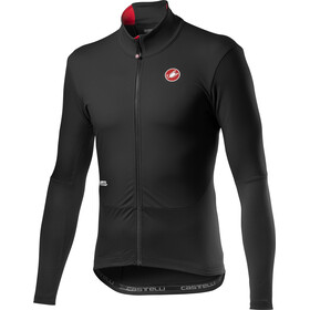 Castelli Nano Mid Wind LS Jersey Men light black